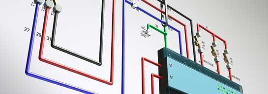 Illustration: El och tele-lösningar